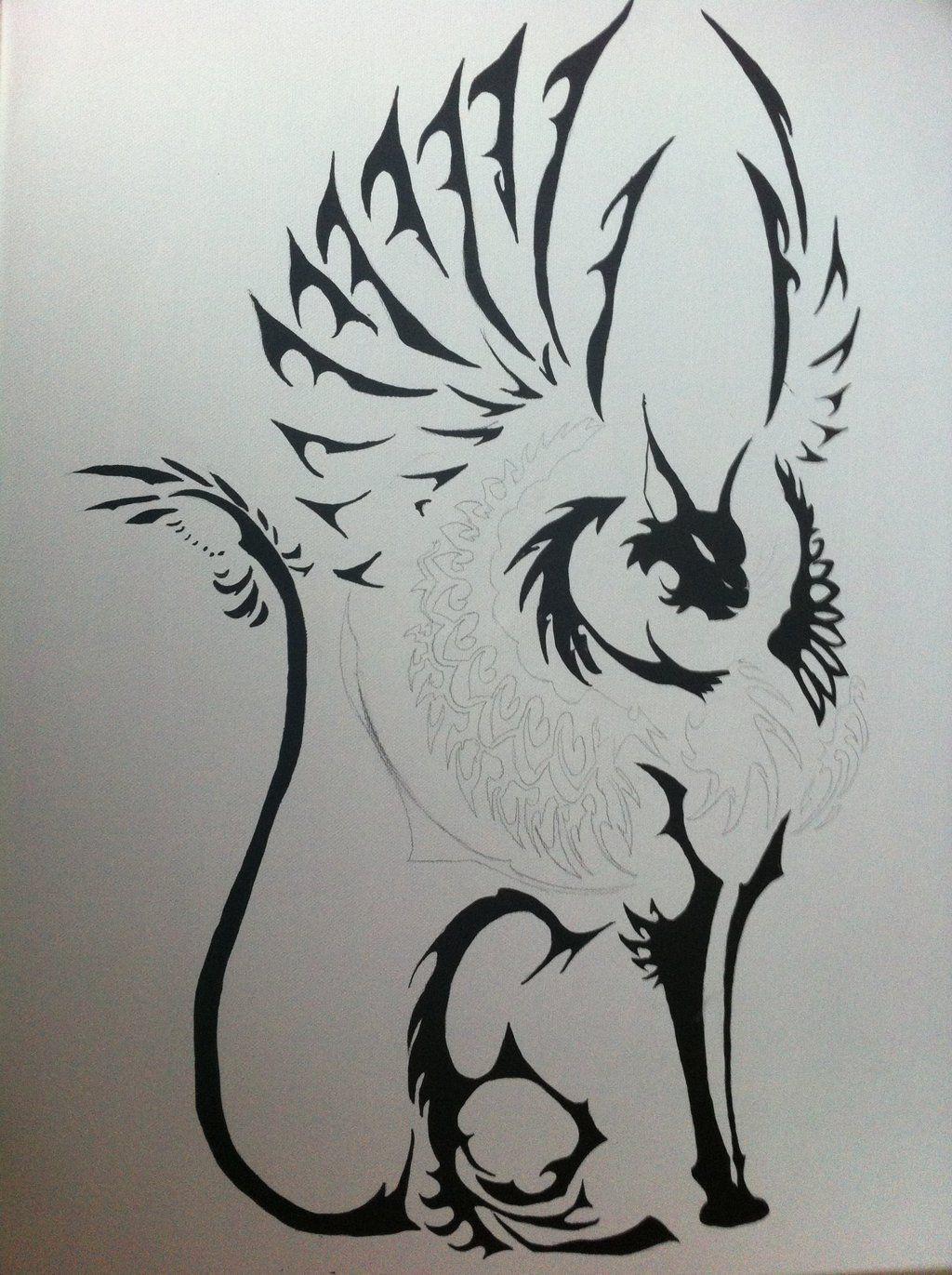 Cat With Wings Art Imgbucket Com Bucket List In Pictures Wings Art Art Dragon Wings
