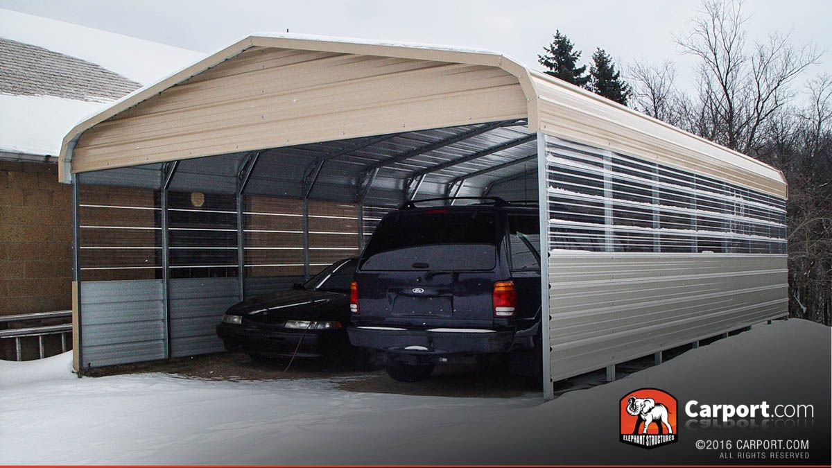 Custom Triple Wide Metal Carport 26 X 24 X 7 Metal Carports Carport Designs Building A Carport