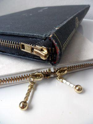 zippered books