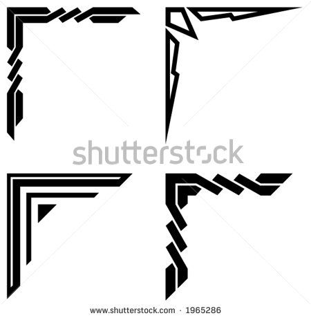 Swirl Corner Border Design Images Free Vector For Free Download About 137 Free Vector In Ai Eps Cdr Border Design Corner Borders Stencil Patterns Templates