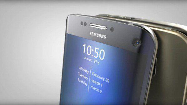 سامسونج غالاكسي S7 يظهر في أول صورة حية مسربة Samsung Galaxy Samsung Galaxy S7 Samsung Galaxy S7 Edge