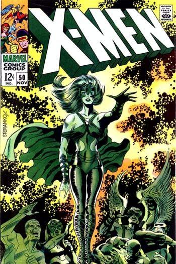 X Men 50 Cover By Neal Adams Jim Steranko Comic Book Artists Silver Age Comics