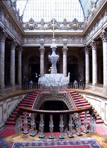 Palacio Dolmabahçe en Estambul, Turquía.