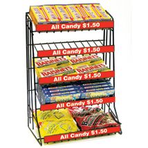 For The Theatre Room 5 Tier Candy Counter Display Rack Candy