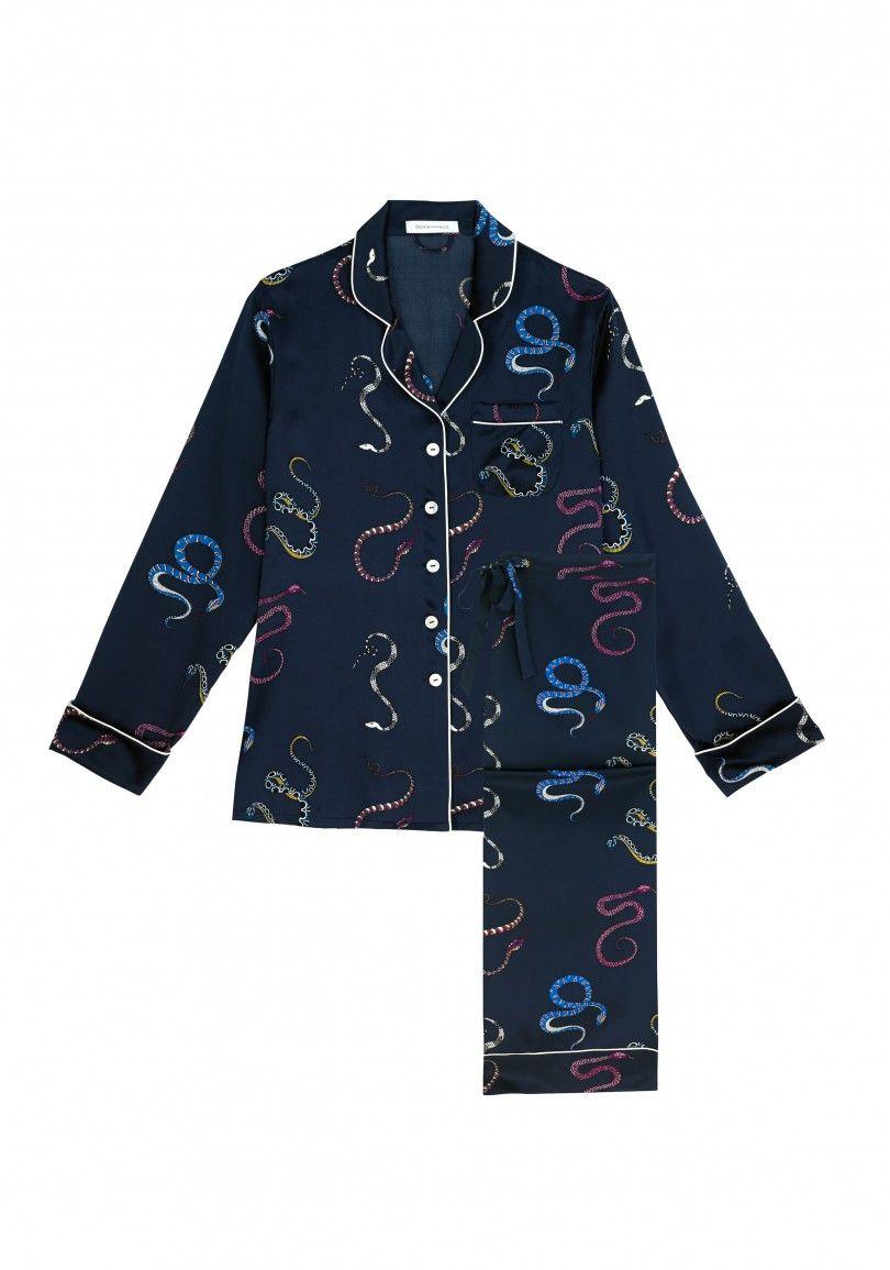 Lila Nasra Silk Pyjamas - Silk Pyjamas - Shop