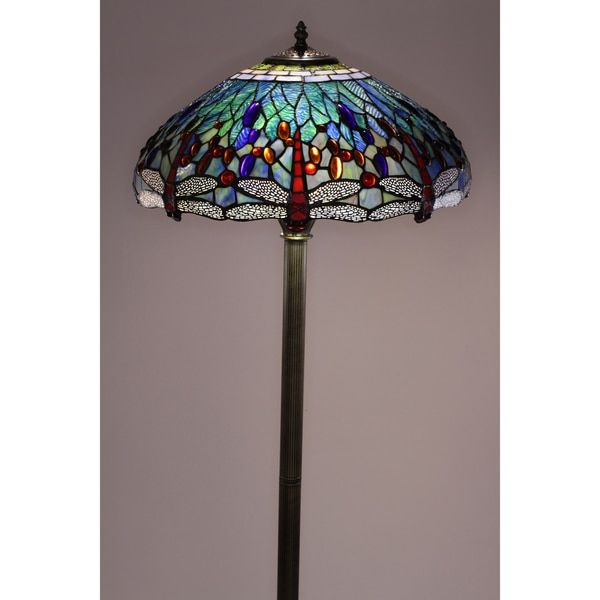Tiffany style dragonfly floor lamp lighting pinterest floor lamp floor lamp tiffany style audiocablefo