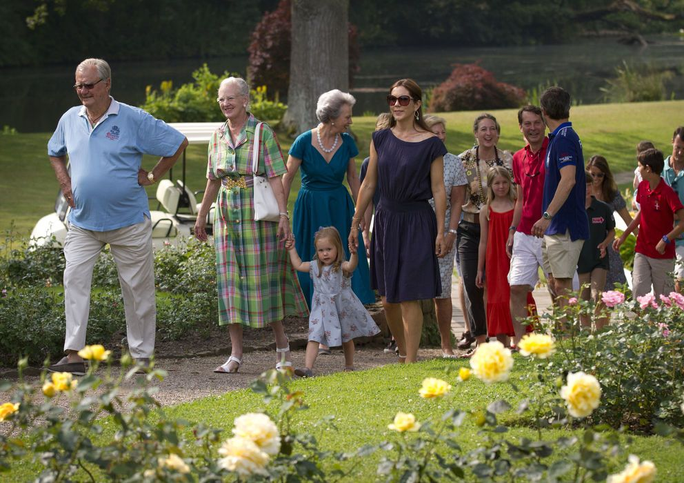 Summer vacations of the Royal Danish family. 2013