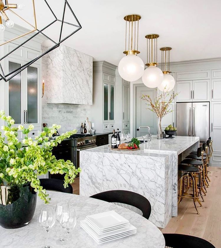 1005 Likes 29 Comments  Curtis Elmy Mrcurtiselmy On Extraordinary Marble Kitchen Designs 2018