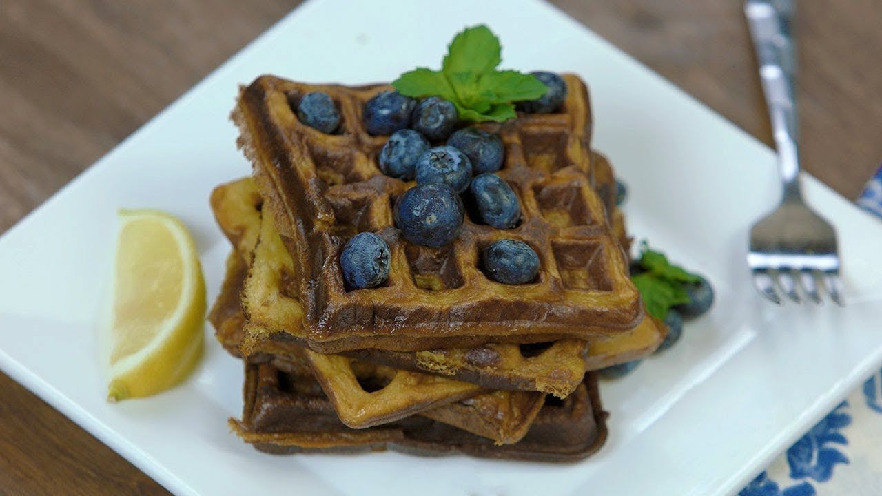 Cassava flour waffles how to make waffles low glycemic