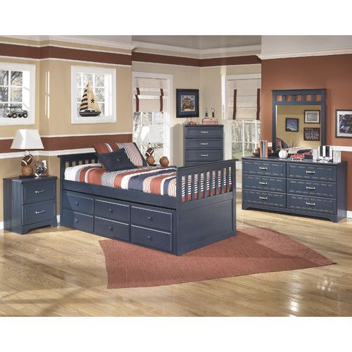 Found it at Wayfair - Leo Twin Slat Customizable Bedroom Set O\u0027s