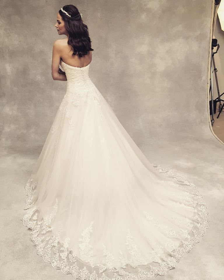 d7008bcd6e99 Today we're in the WED2B studio shooting our new gowns First up 'Emmy' by Viva  Bride www.wed2b.co.uk