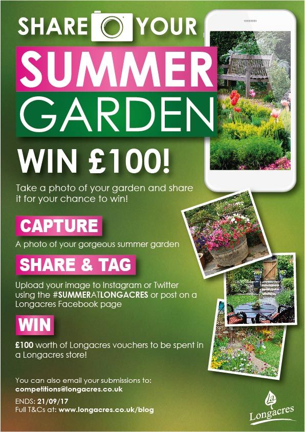 Share Your 2017 Summer Garden and Win! SummerAtLongacres