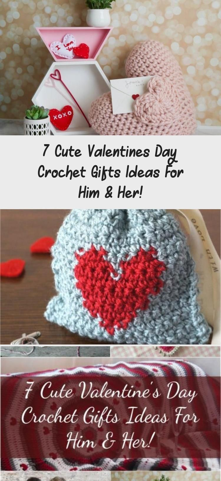 7 cute valentines day crochet gifts ideas for him her