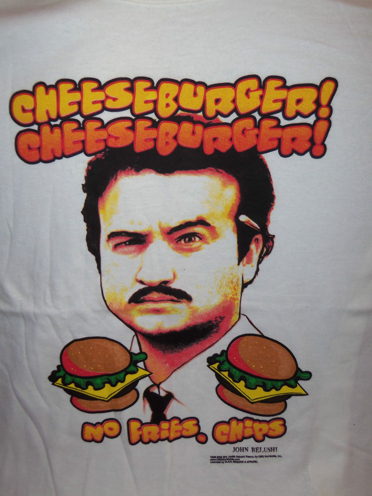 Image result for john belushi cheeseburger cheeseburger