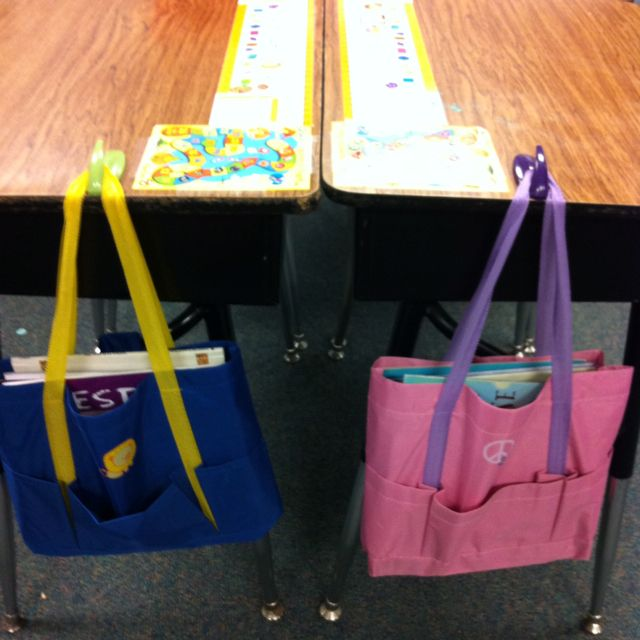 Bags at the dollar store for each student