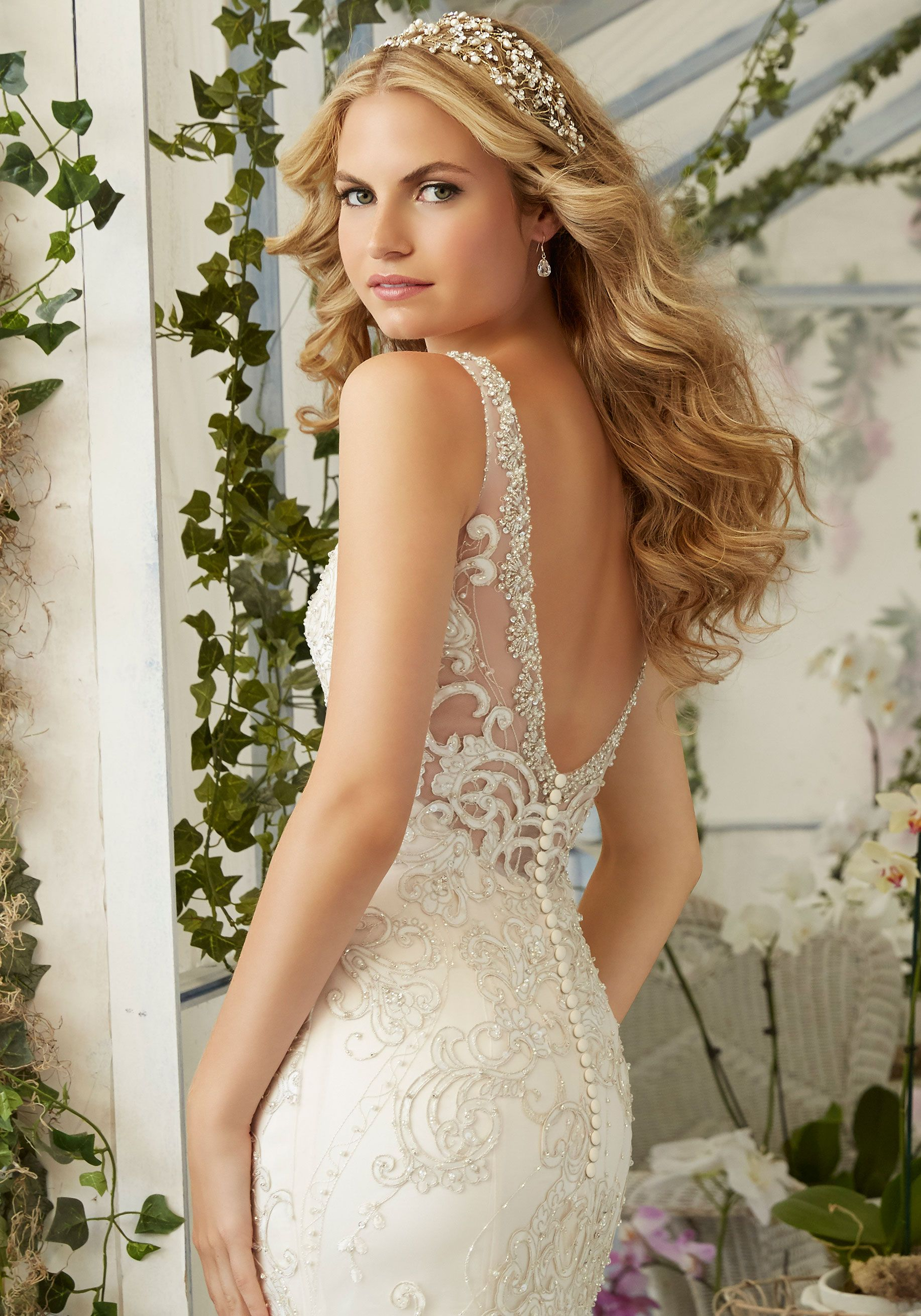 Mori lee madeline gardner wedding dress  Wedding Dresses and Bridal Gowns by Morilee designed by Madeline