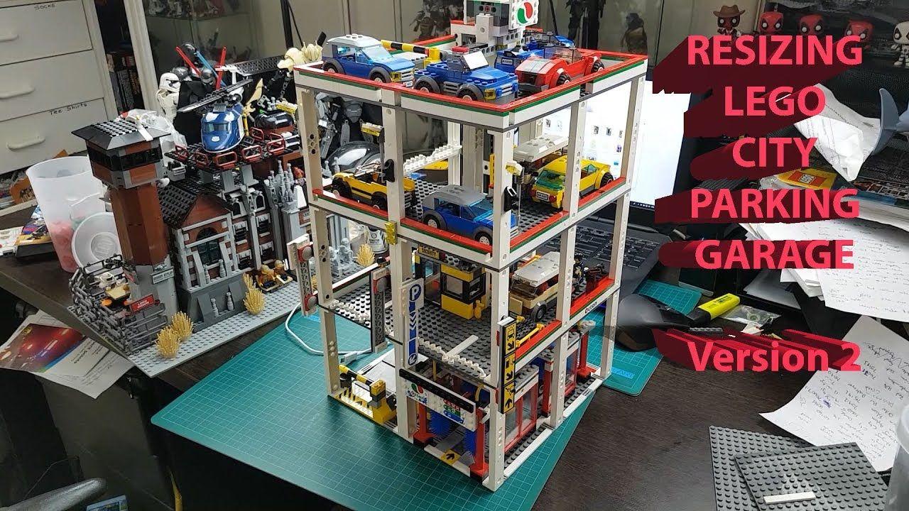 Lego City Garage : Lego custom city garage parking lot lego city lego lego