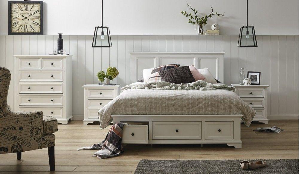 Wentworth 4 pce tallboy bedroom suite   Bedroom   Bedroom, Classic ...