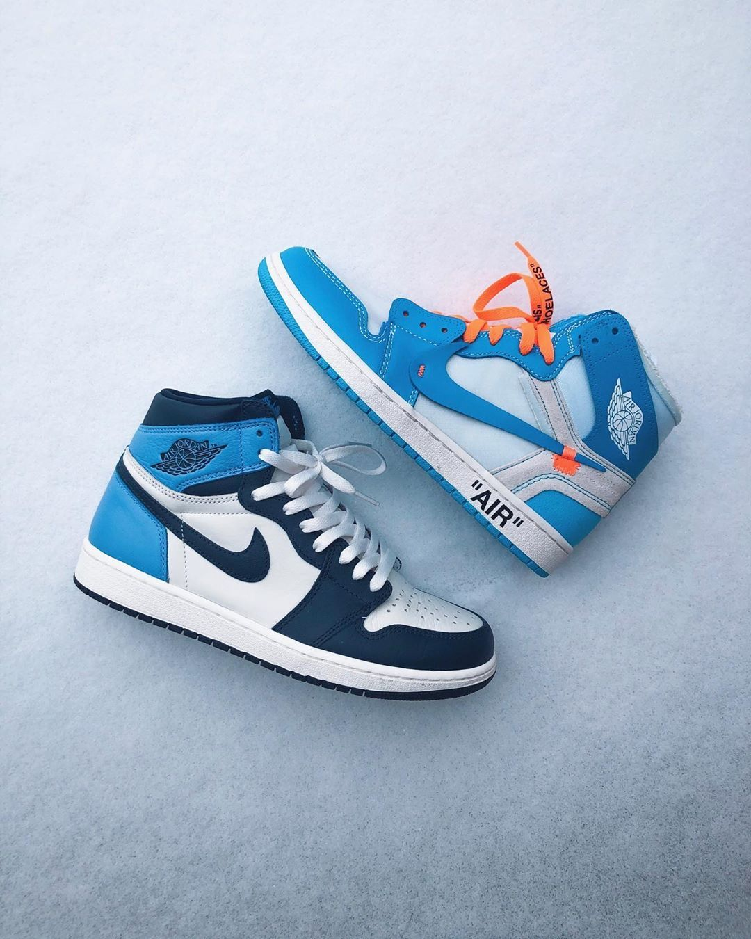 Air Jordan 1 Retro High Og Obsidian University Blue Nike Jordans Jordan 1 Retro High Off White University Blue In 2020 Cute Nike Shoes Nike Air Shoes Hype Shoes