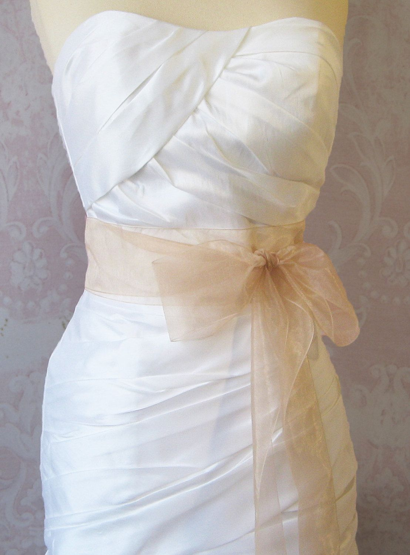 Organza Bridal Belt