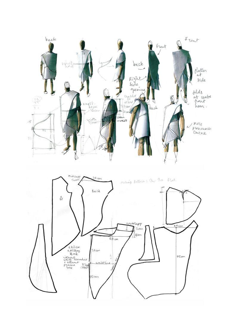 Fashion Sketchbook Fashion Design Dress Development Sketches And Notes Fa With Images Fashion Illustration Portfolio London College Of Fashion Fashion Design Portfolio