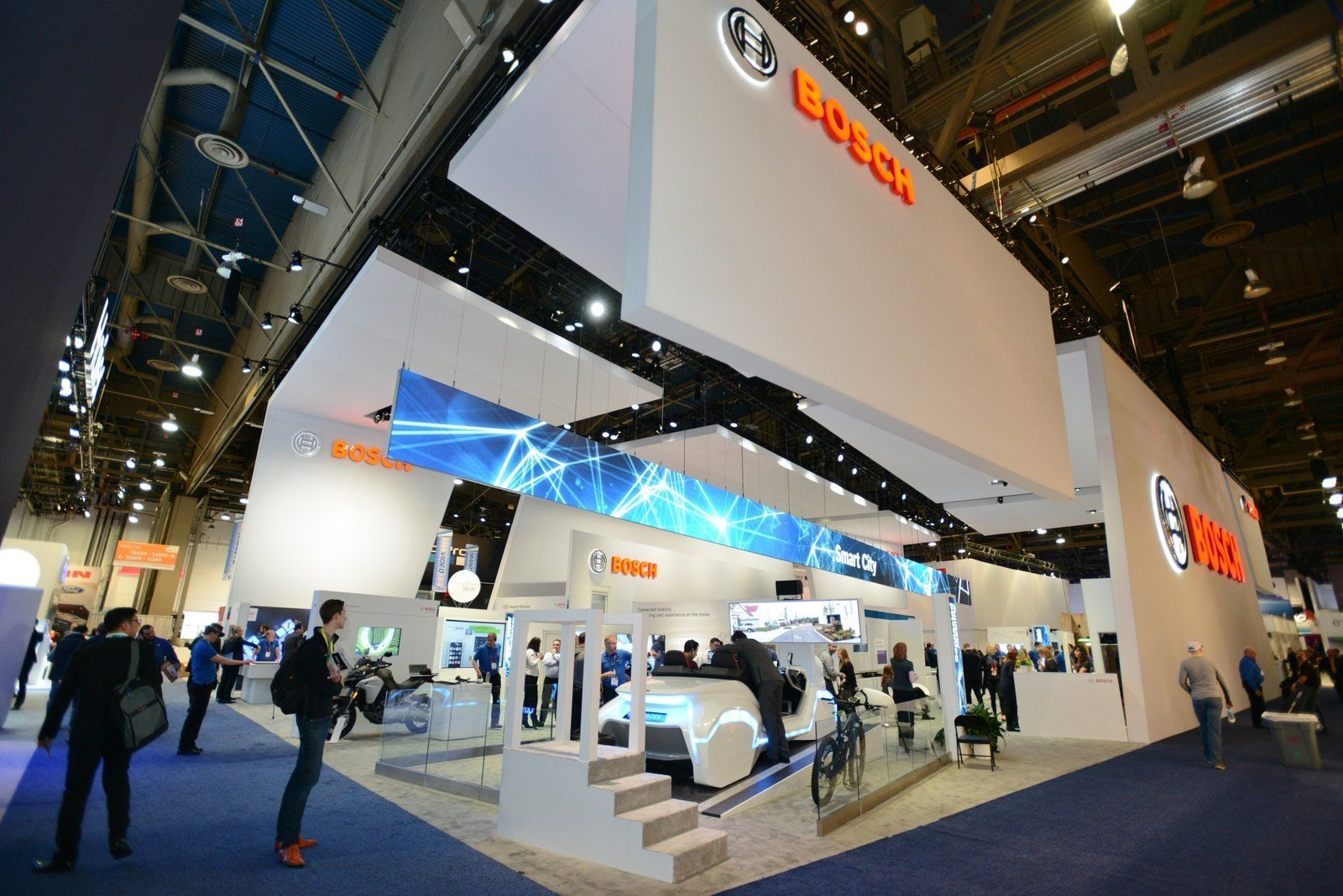 Exhibition Booth Assistant : Iot ces bosch focuses on intelligent assistants