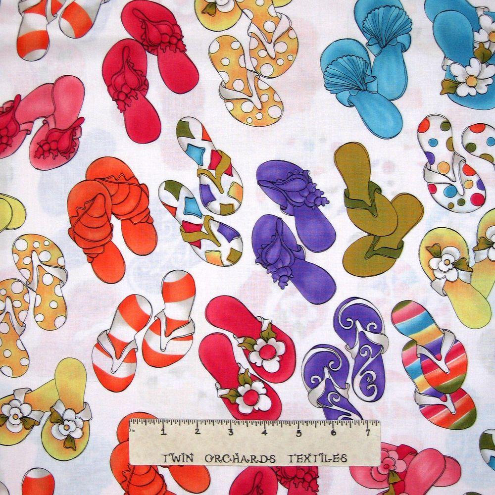 Loralie Designs Lazy Beach Cotton Quilt Fabric