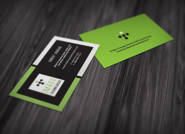 Imago Logo And Business Card By Aibrean On Deviantart Http Www Techirsh Com Business Cards Cards Business