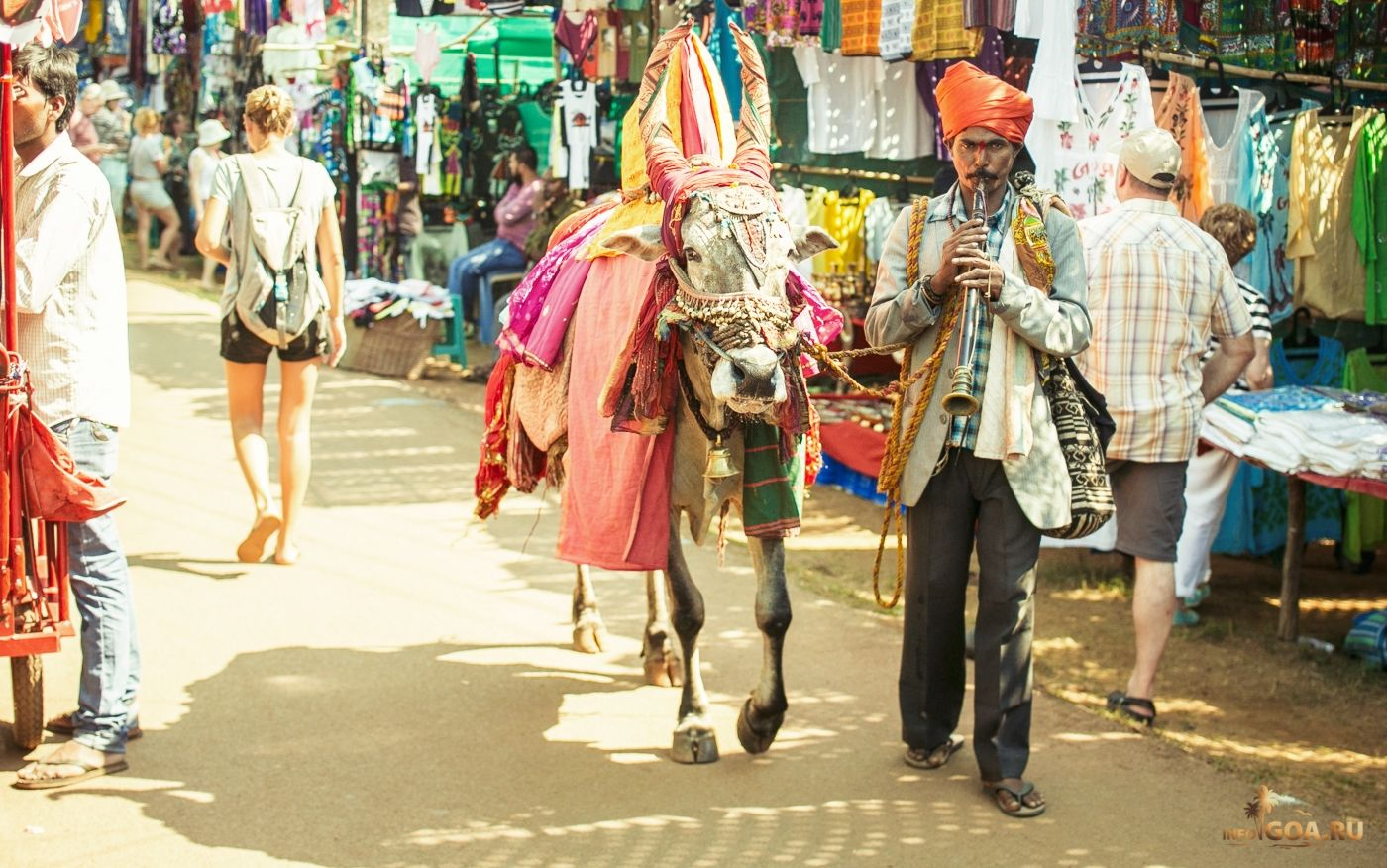 Дневной рынок в Анджуне — Все о Гоа