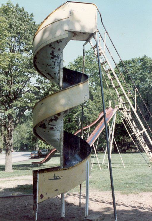Crapo Park Burlington Iowa Curly Slide I Have So Many Memories Of