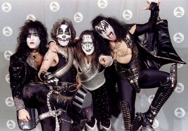 KISS. Reunited at the Grammys 1996