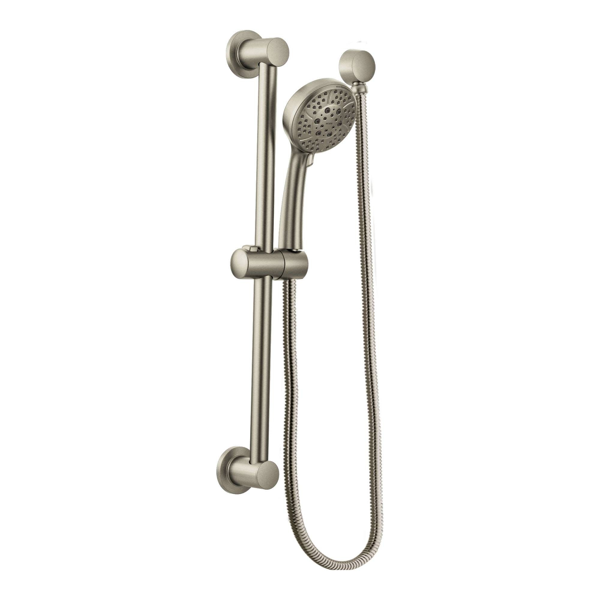 Moen 3669ep Multi Function Hand Shower Package With Hose And Slide