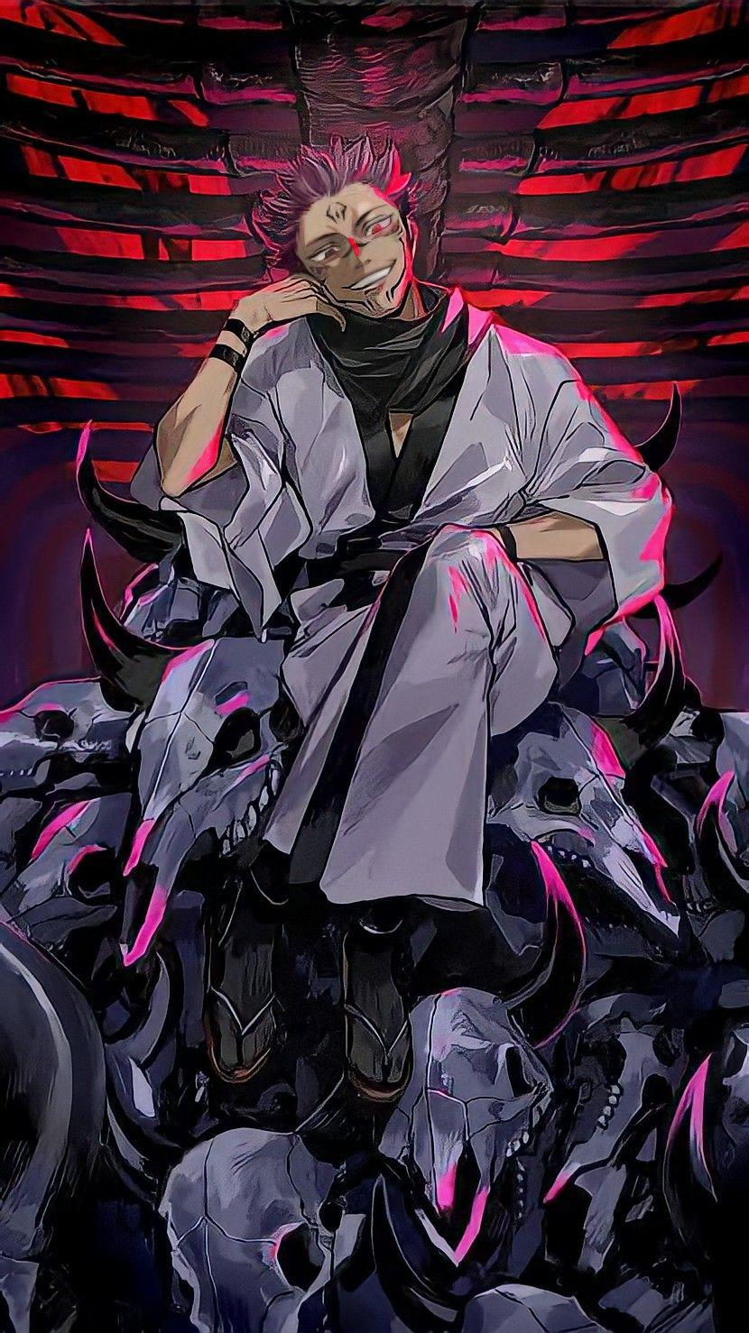 Jujutsu kaisen wallpaper sukuna em 2021 personagens de