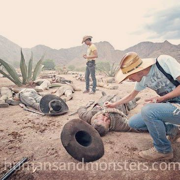 #makeupfx #LaCristiada #Desert #México #sanluispotosi #CesarPerlop #humansandmonsters