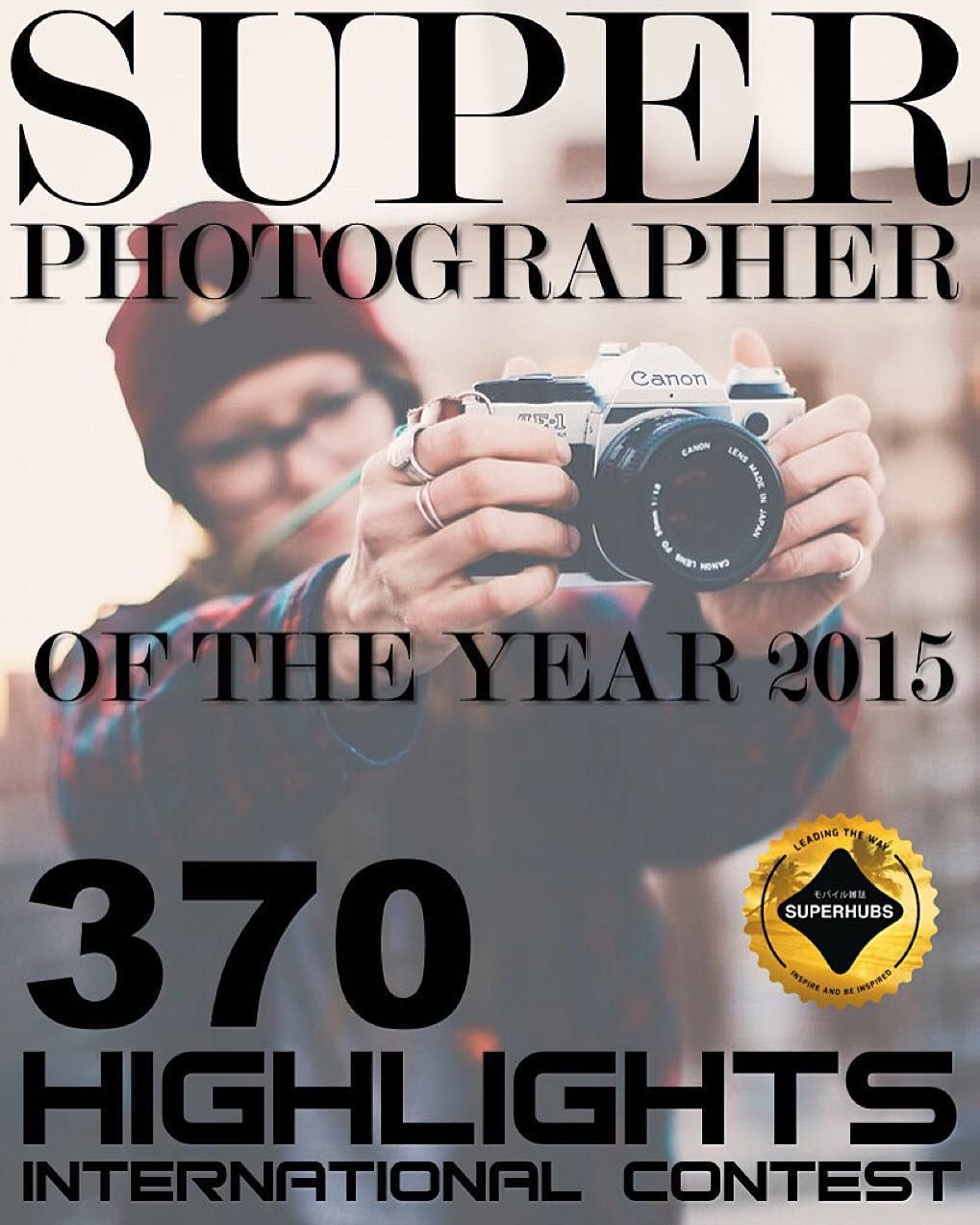 370 highlights! INTERNATIONAL CONTEST国際コンテスト  Super Photographer of the Year 2015   EDITION: DEC  2015  年 12月    SUPER FEATURE  370 highlights!  Each member @superhubs_members will make 2 highlights (185 members x 02 highlights)  The winner will have their photo presented to over  3.500.000 people!  We will feature DIFFERENT PICTURES of a SINGLE photographer!  Dec 23: Winner Disclosure   TO PARTICIPATE IS SIMPLE  Follow: @superhubs @superhubs_power @superhubs_shot @superhubs_souls @superhubs_lovers  Put the tag  #superhubs_370  in your best photos.  Tag 2 best friends in this post   RULES  Must be YOUR own photos. Do NOT enter COLLABS! Only 2 entries new and old photos.  Each Hub that takes part will choose a photo from your feed and will feature it on their HUB! SH has hubs with many different styles; depending on the hub your photo will/can be edited to be featured for example: a B&W Hub will edit your photo to B&W (if your photo isn't black and white) before featuring it.  By using the promotional tag you automatically agree to all these rules and authorize the hubs to edit your photos (where necessary).   Board  @carlos_koji @jamjammal @sohakouraytem @chasingcorinna @marwank33 @aelfotografo @Jeff_nct  Photo courtesy  @carssun  GOOD LUCK! 幸運 #sh15xxx