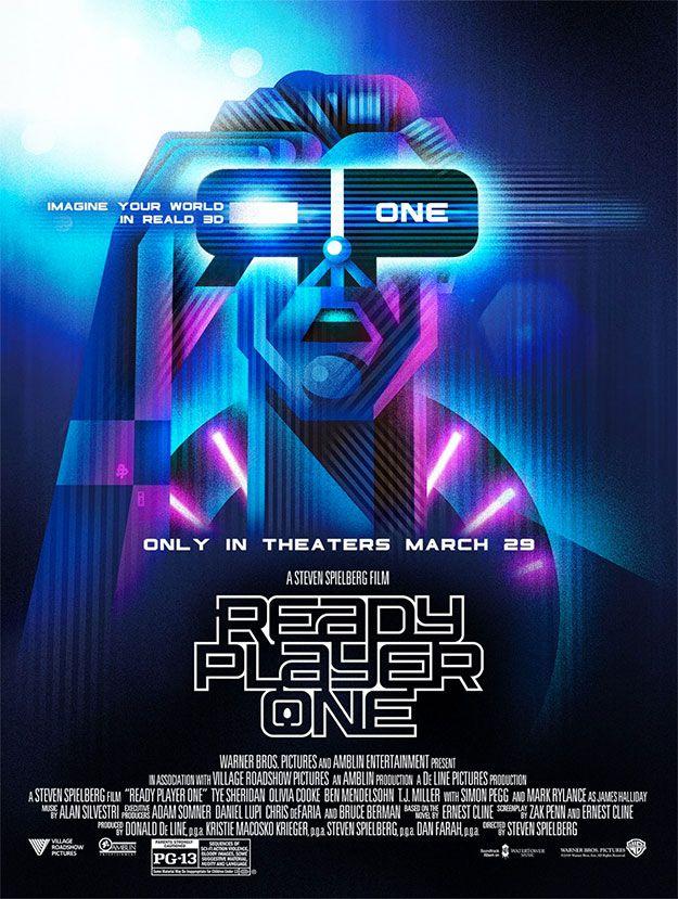 Otro cartel de Ready Player One (con imágenes) Carteles