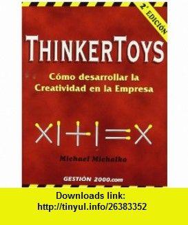 THINKERTOYS EBOOK FOR PDF