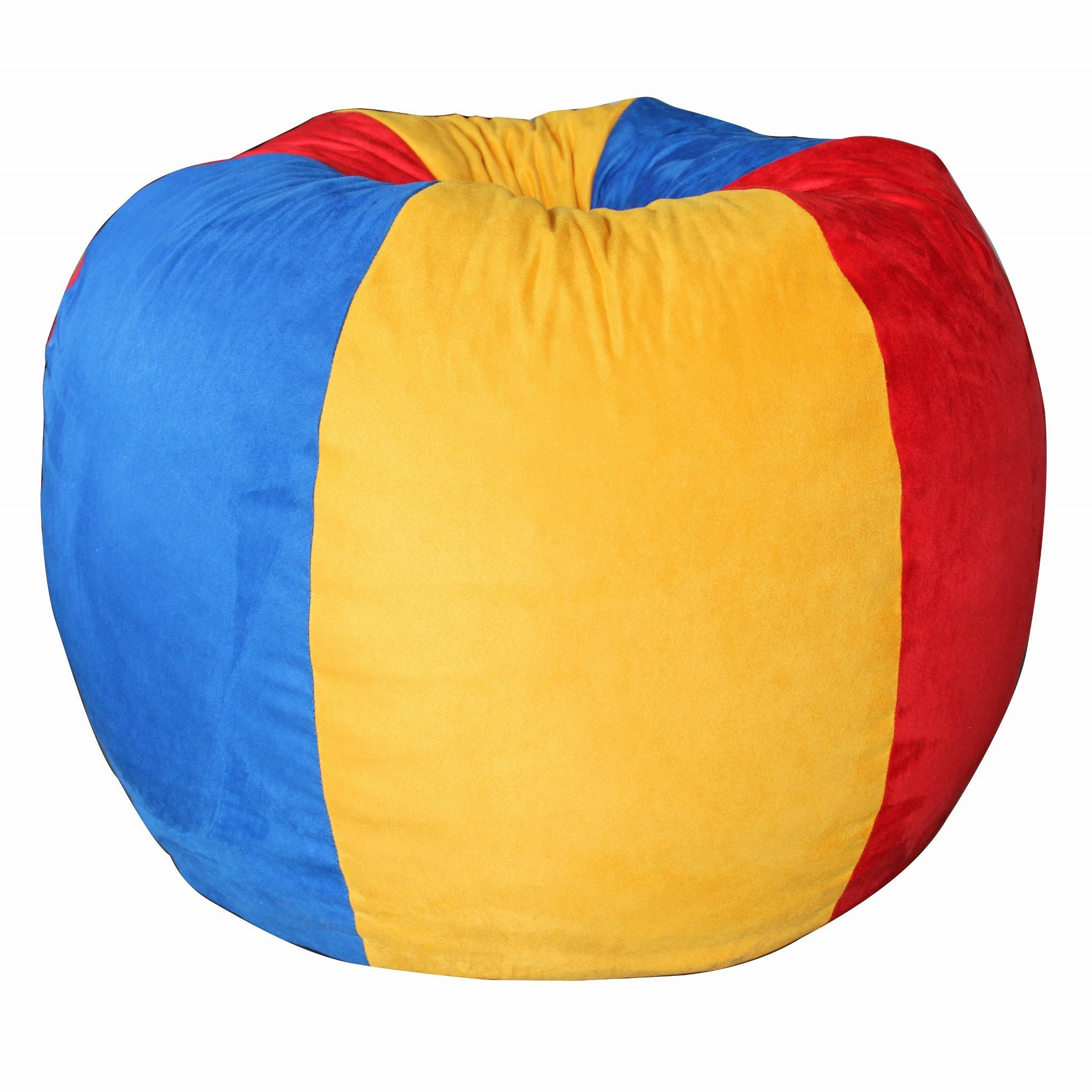 Awesome Primary Colors Youth Chair Products Chair Bean Bag Pabps2019 Chair Design Images Pabps2019Com