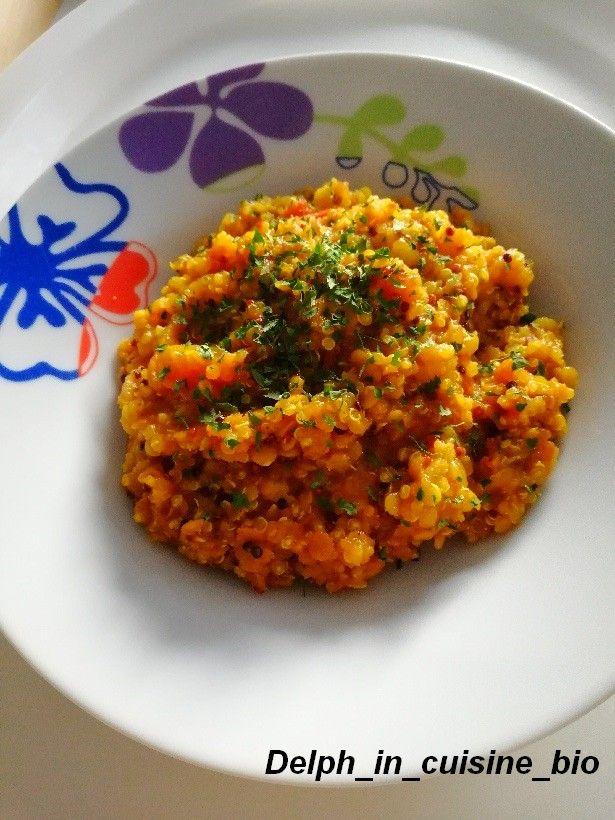 Lentilles corail et quinoa au curry | Recettes de cuisine ...