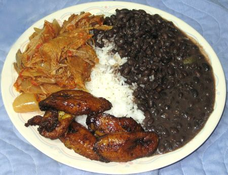 Ropa vieja translation old clothes shredded beef in a for Authentic cuban cuisine