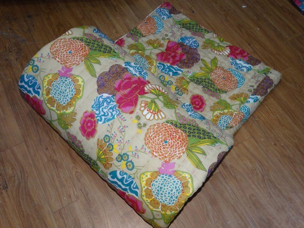 Handmade Winter Razai Jaipuri Fruit Print Cotton Floral Filling ... : filling for quilts - Adamdwight.com