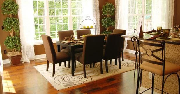 Area Rug What To Know Before You Buy Great Info On How To Measure - Dining table carpet mat