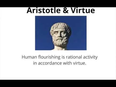 This short youtube clip focuses on Aristotle's view on virtue. A virtue that Aristotle examines