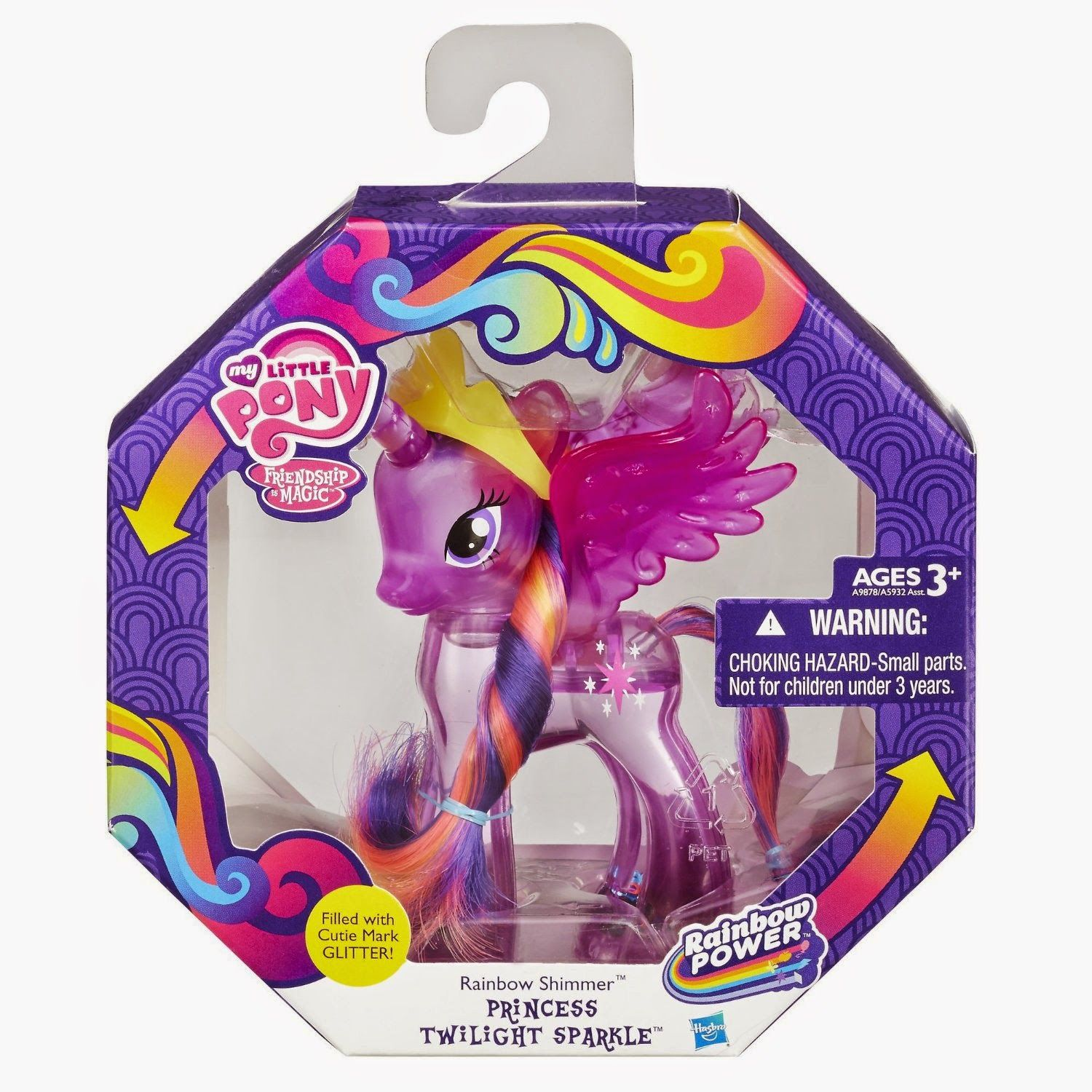 New My Little Pony Rainbow Shimmer Princess Celestia Figure GIFT Game Toy