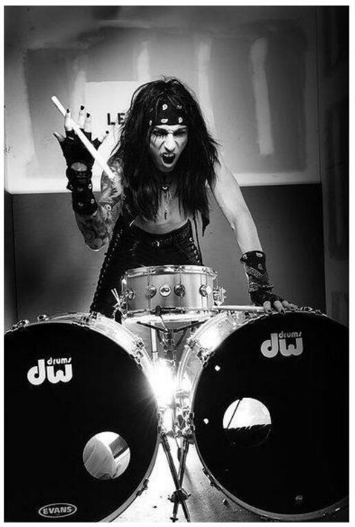 CC! I will become an amazing drum player just like him one day!!