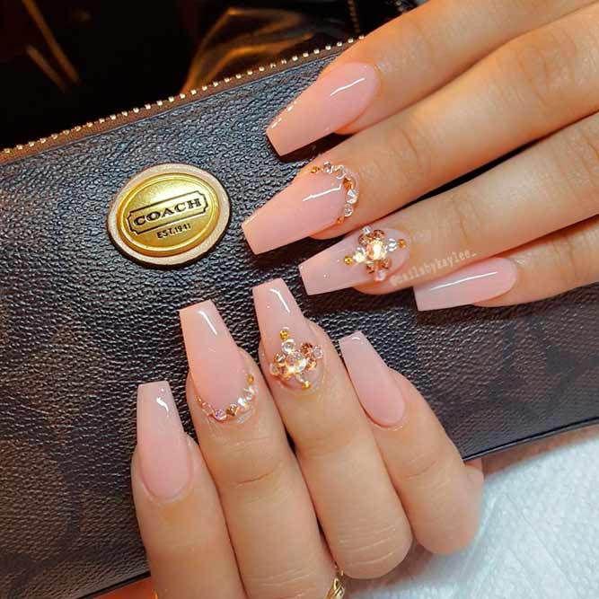 150 Trendy Acrylic Nails Designs 2018   Acrylic nail salon, Acrylic ...