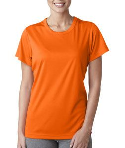 8420L UltraClubå¨ Ladies' Cool & Dry Sport Performance Interlock Tee Bright Orange