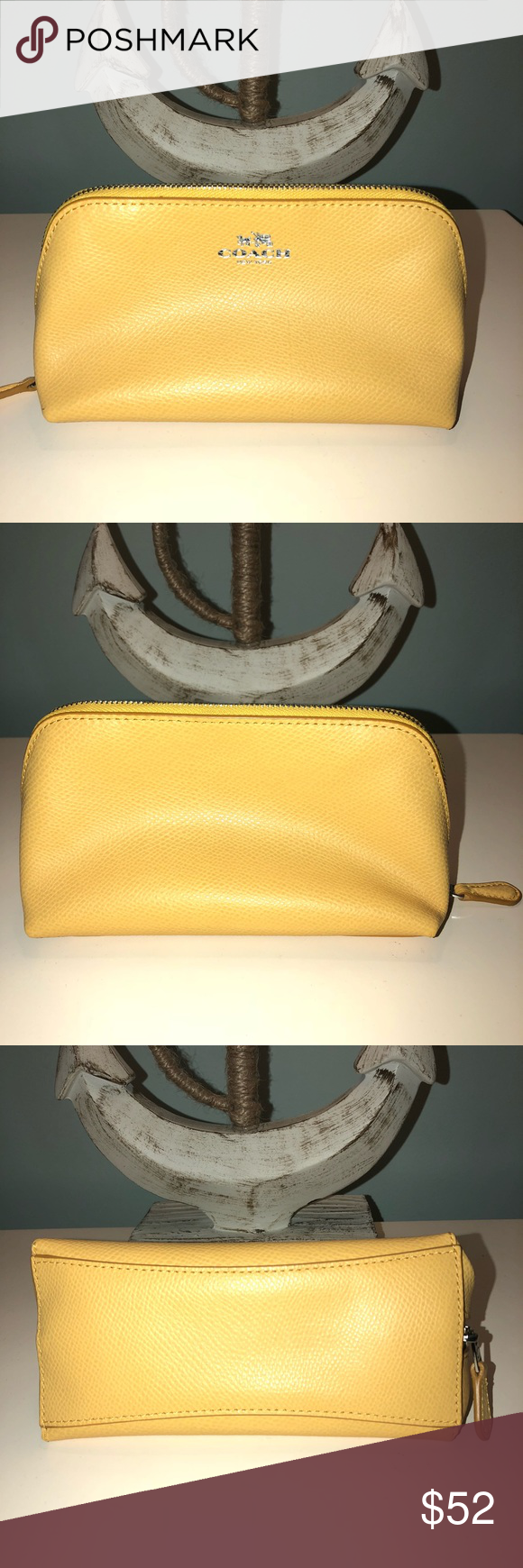 Small, Classic, & Simple Yellow Coach Bag🌻 This classic