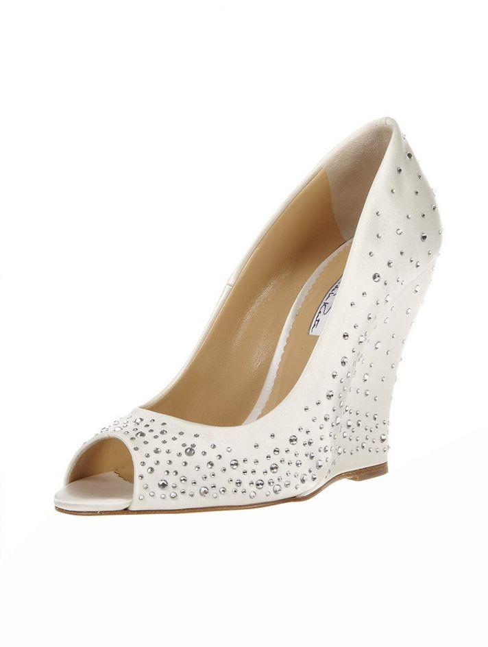 Bridal Shoe So Worth The Splurge Oscar De La