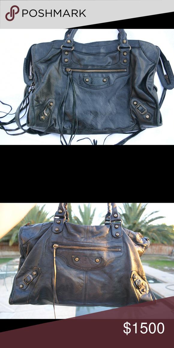 Authentic Balenciaga City bag chèvre leather Not for sale Bags Balenciaga  City Bag 547866cfb3e57